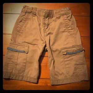 Levi khaki shorts